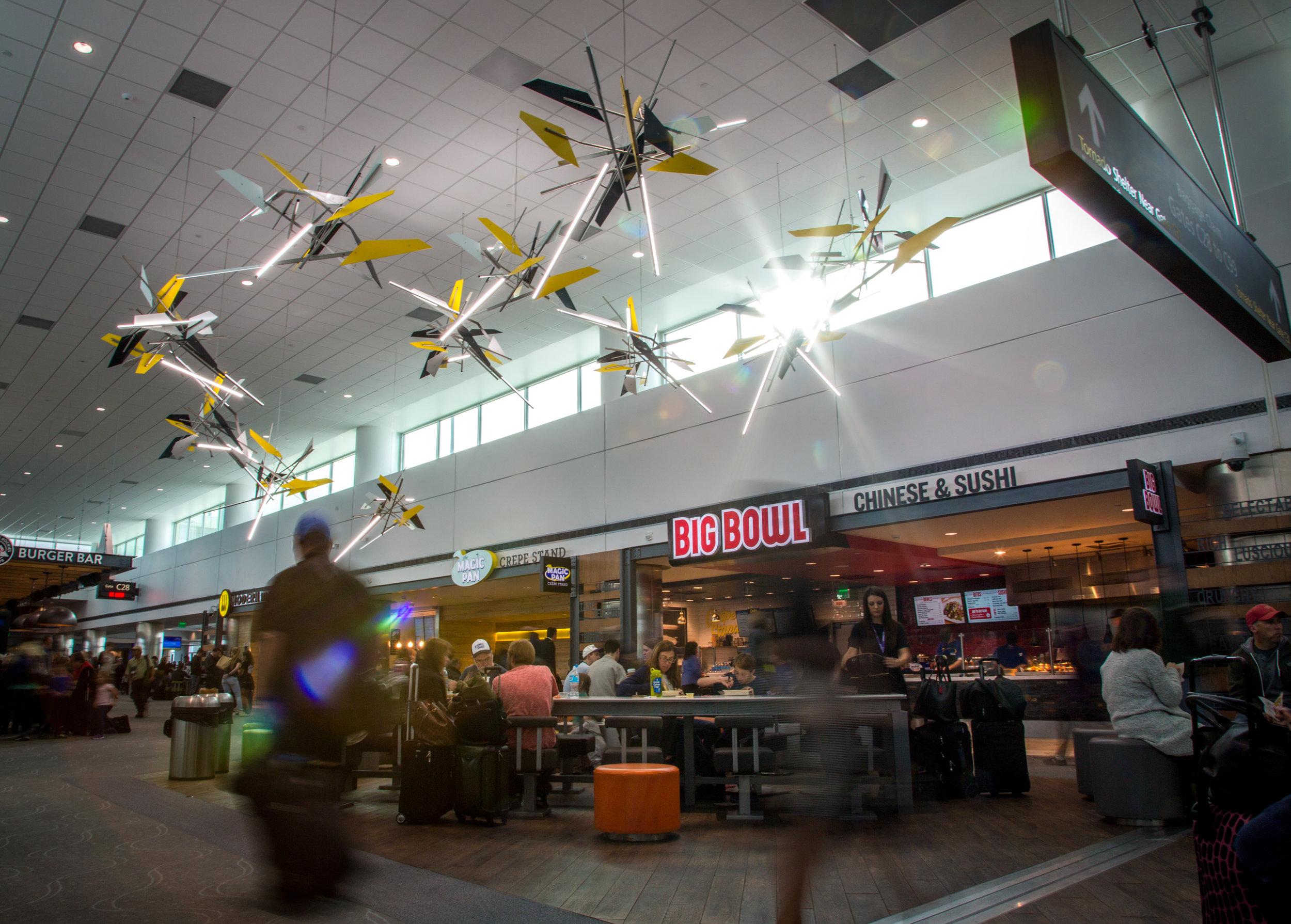Photograph provided courtesy of Denver International Airport