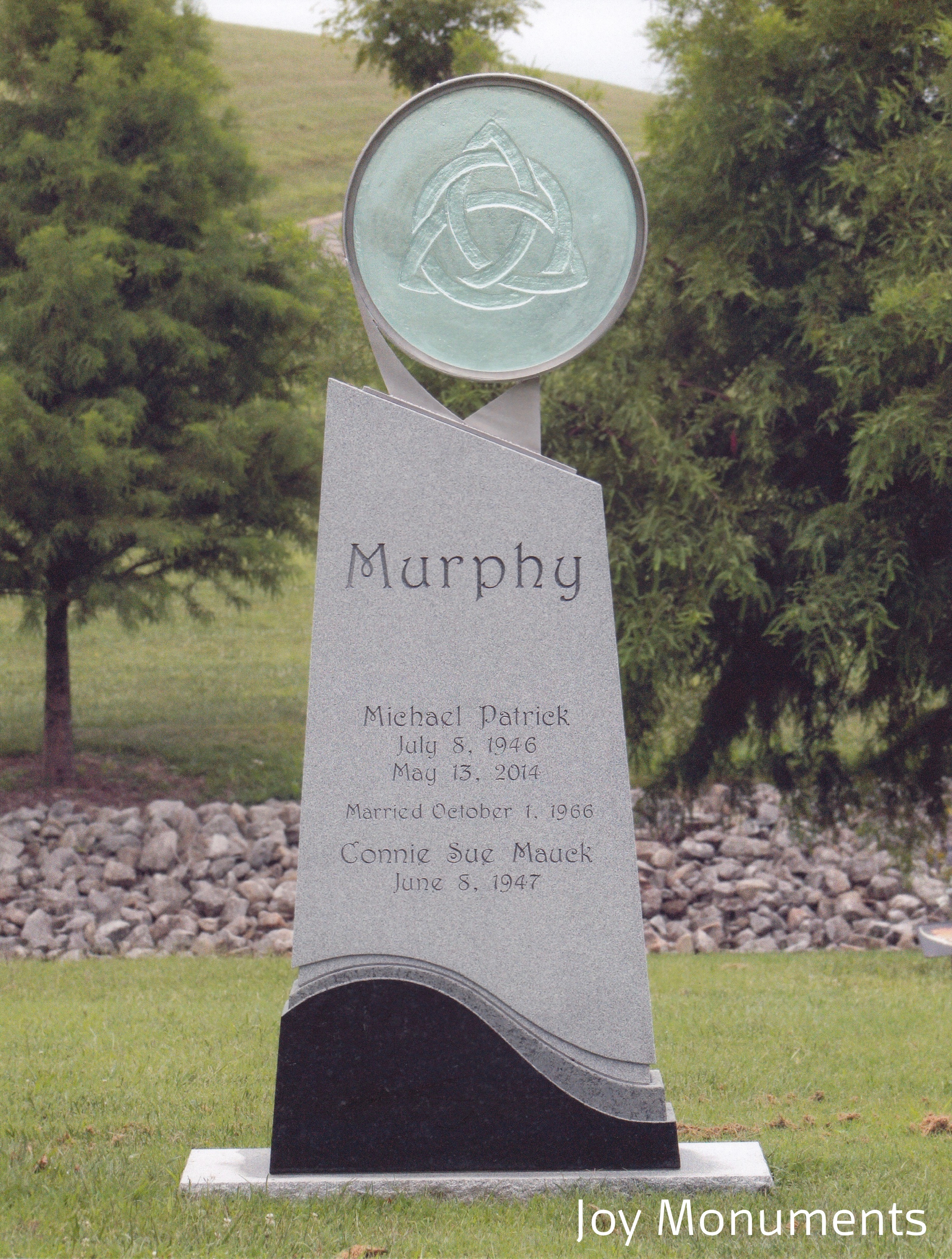 "2nd Place Medium Monuments ""Murphy"", Joy Monument, Terry Joy, AICA"