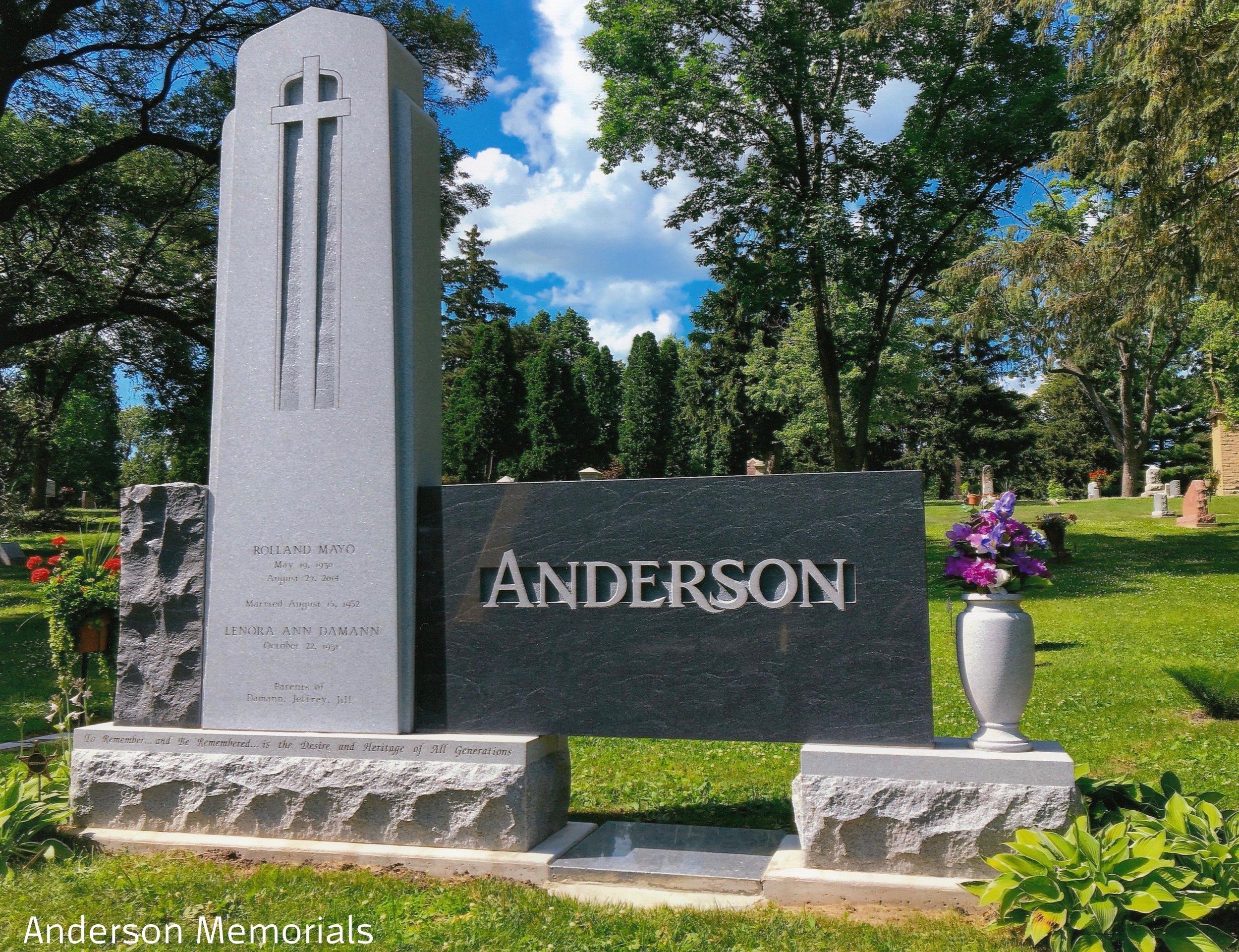 "Winner of the Eugene H. Faehnle, FAICA Trophy ""Anderson"", Anderson Memorials, Jeff Anderson, CM, AICA"