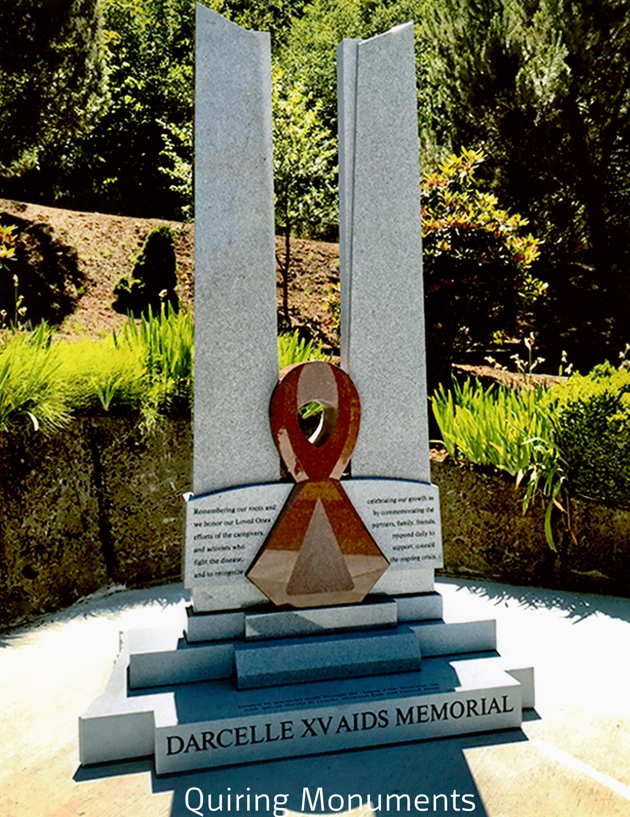 "1st Place Public Memorials ""Darcelle XV"", Quiring Monuments, Jon Reece, AICA"