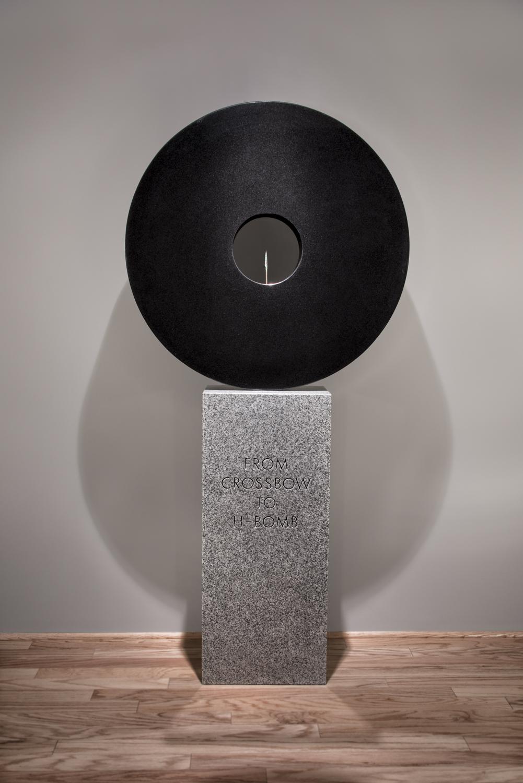 Granite and Bronze                                         74 x 36 x 10 in | 188 x 91.4 x 25.4 cm                                                                    2016