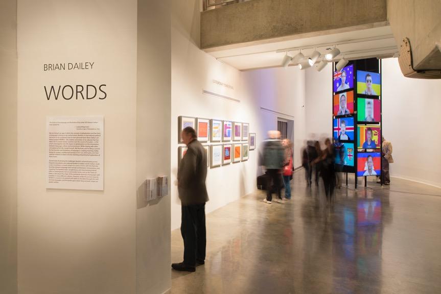 WORDS , Katzen Arts Center, American University Museum, January 27, 2018