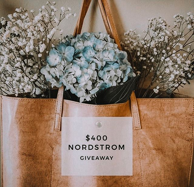 I could stop shopping, but I'm not a quitter🙅🏻♀️ • I've partnered with some of my favorite bloggers (no joke, they're amazing!) to gift a $400 Nordstrom Gift Card to one of our lucky followers! It takes 30 seconds to enter - simply follow the 3 steps below. • TO ENTER: 🌸like this photo. 🌸follow @blush.giveaways and everyone they're following. 🌸tag 2+ friends in the comments below! each tag is an entry. ➕BONUS ENTRY ⇢ tag additional friends and/or post to your story and tag @blush.giveaways. • Must be 18+ and a US Resident to enter. Post ends 6/12 at 11:59 PM CST. One winner will be randomly selected and announced within 48 hours. This post is not sponsored or endorsed by Instagram or any brands of items gifted.