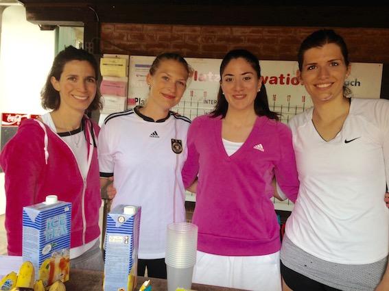 Die glorreichen Vier: Jessica, Vanessa, Silia und Tamara