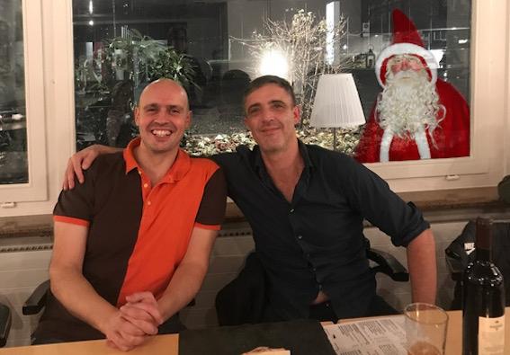 Das gewohnte Siegerduo: Lucas Rinaldi (li) und Rodolfo von Albertini.