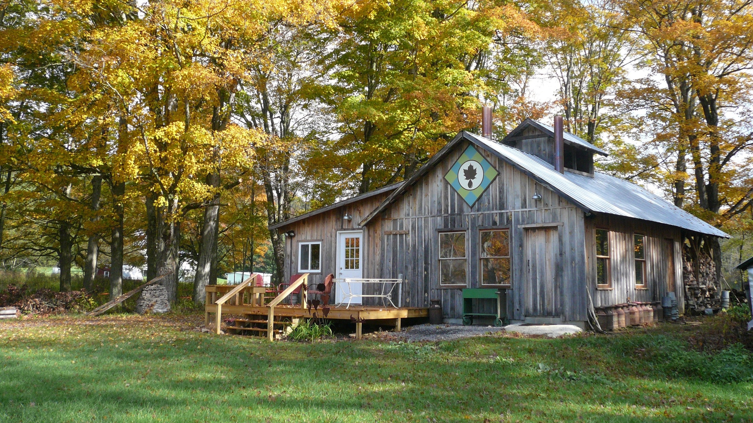 The sugar house is where all the goodness begins. We love sharing our passion for maple syrup!
