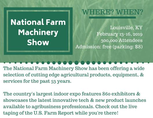Credit:  National Farm Machinery Show