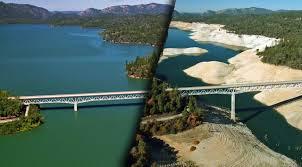 CA Reservoir at Full Pool in 2019 vs. 2017