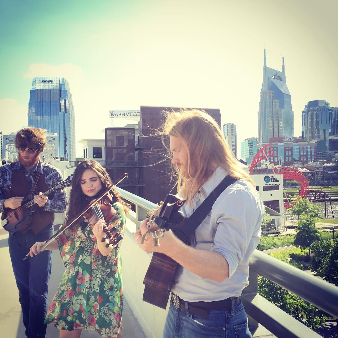 Shooting a mystery video at home in Nashville!