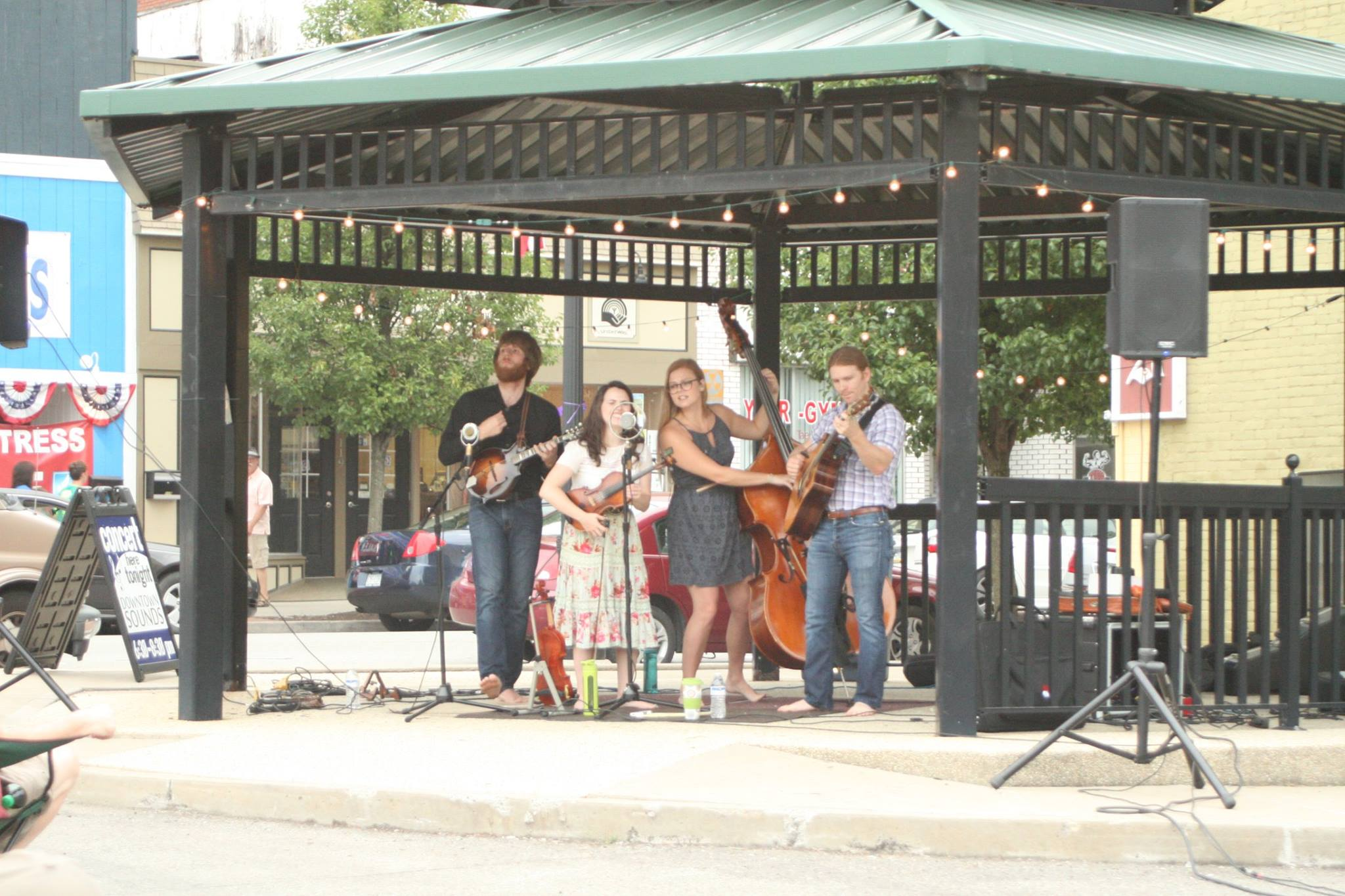 Downtown Sounds Concert Series in Grove City, PA.