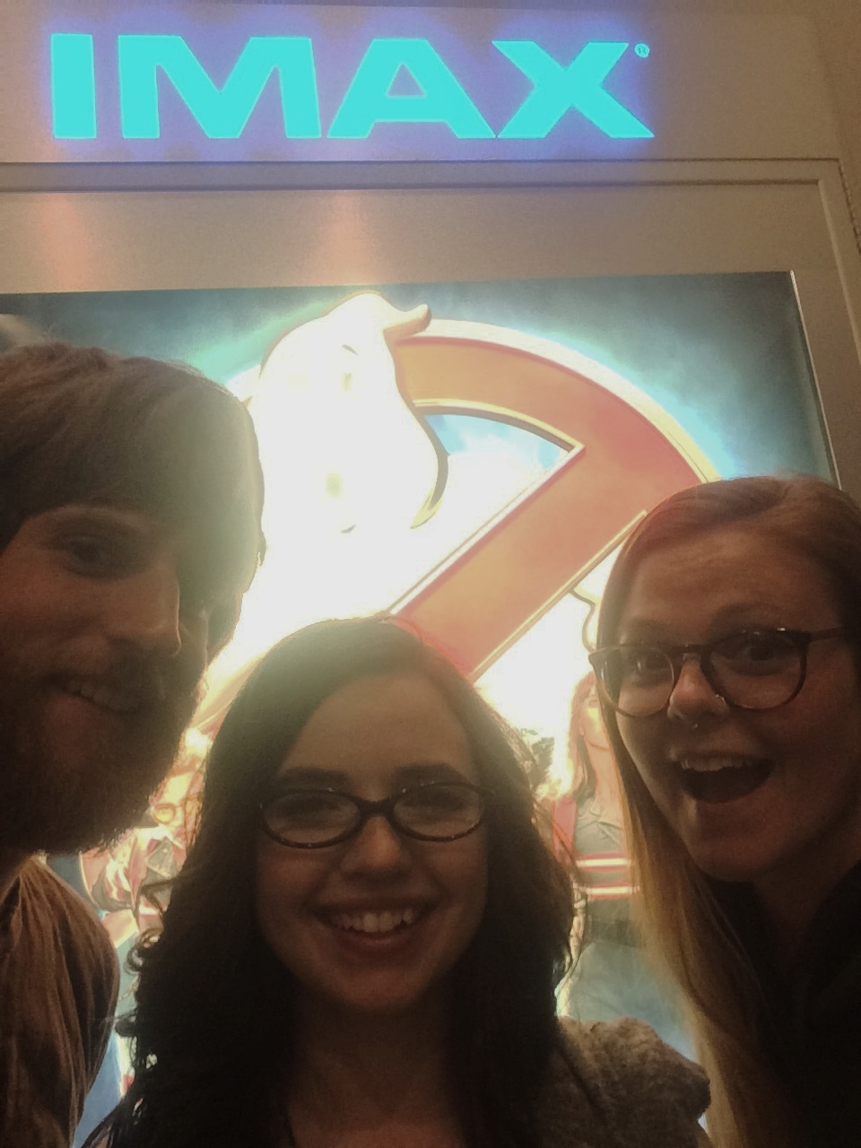 """Night off? Go see """"Ghostbusters"""" of course!"""