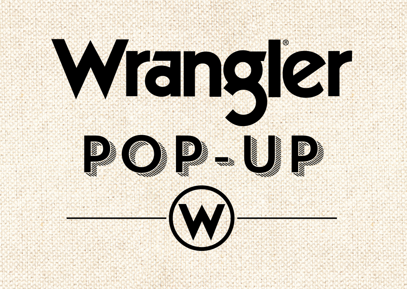 We'll be playing down at the Wrangler Pop Up Store in Nashville, TN from 2-4 THIS Sunday!