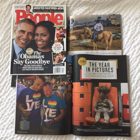 People Magazine: 2016 Year in Pictures