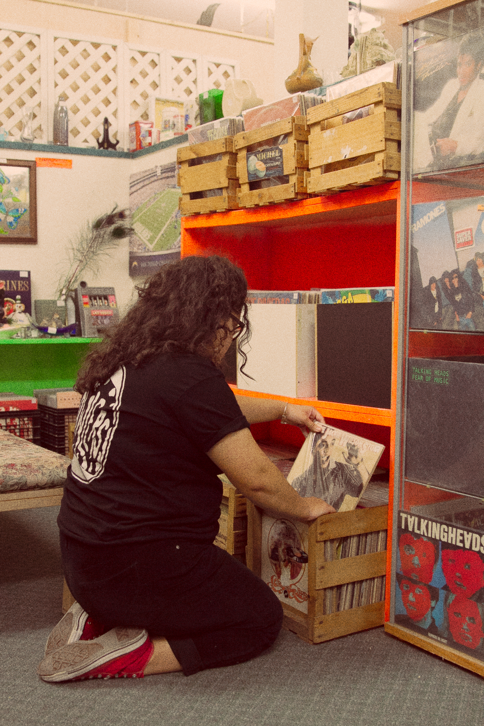 I collect vinyl because it truly fills my heart and ears with warmth. -