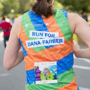 GINGER LARSON running for Pippa