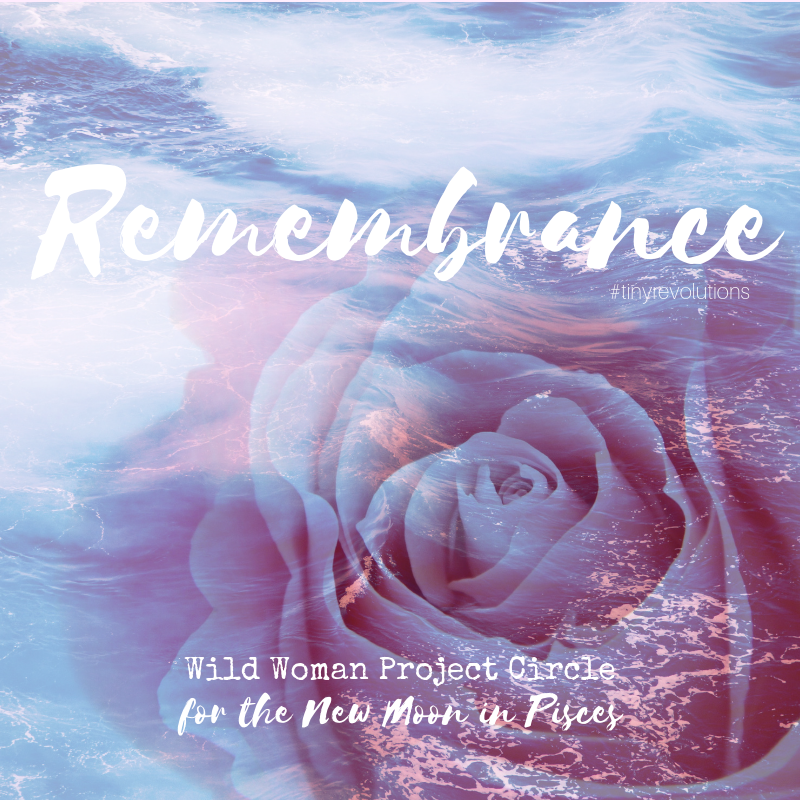 This month's theme: Remembrance
