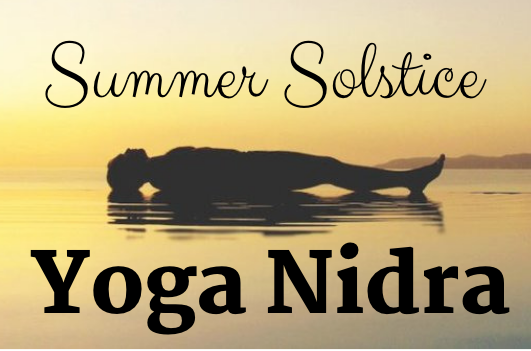 Yoga Nidra (or 'yogic sleep') prepares the subtle body for the integration of a purpose or a resolve ('sankalpa').