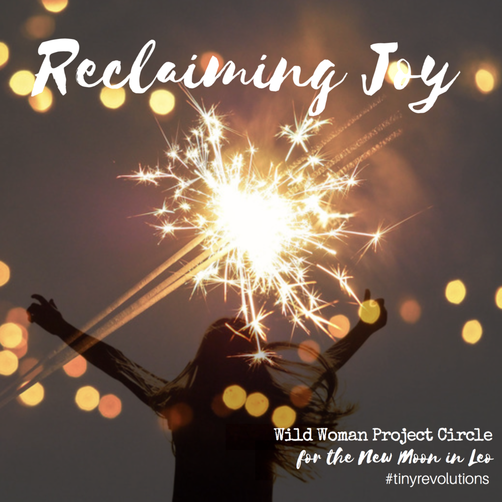 """This month's theme is """"Reclaiming Joy!"""" """"Thereare going to be frustrations in this life. The question is not: How do I escape? It is: How can I use this as something positive?"""" -HH the Dalai Lama XIV, in The Book of Joy  Joy is deeper than happiness, and encompasses the full spectrum of human emotion with gratitude for our miraculous existence. Let's play in and around this theme like otters on a waterslide, making Joy our home base in every way we can!"""