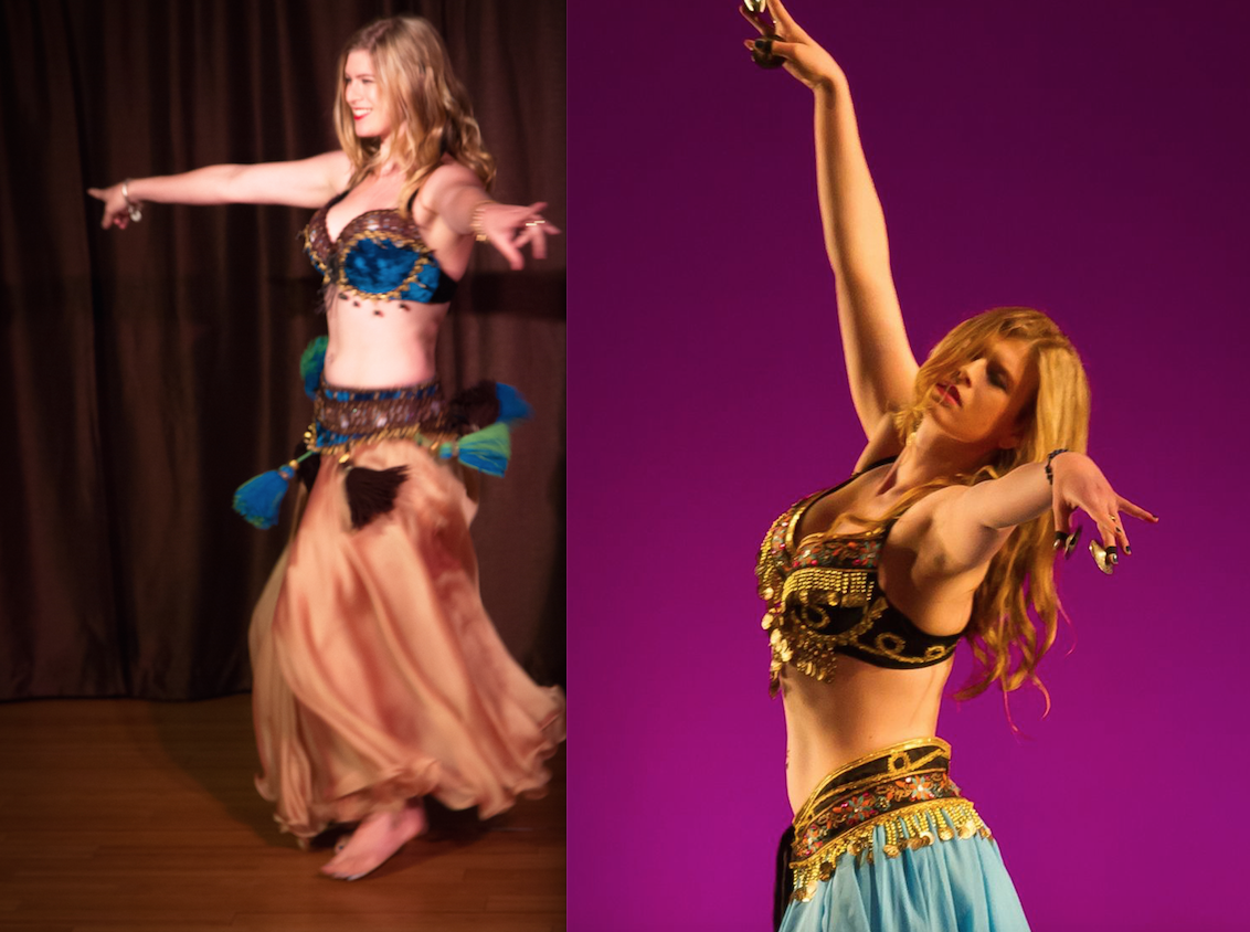Belly Dancing instructor Lindsay Williams