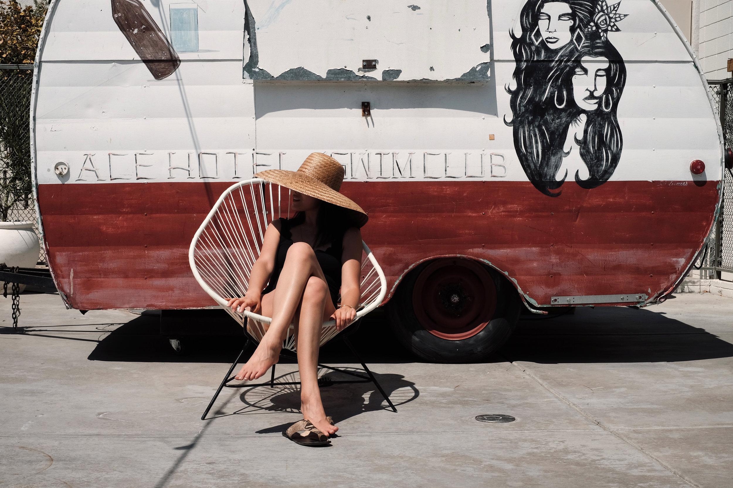 COMMUNITIE     Hat   /    MARYSIA    Swimsuit