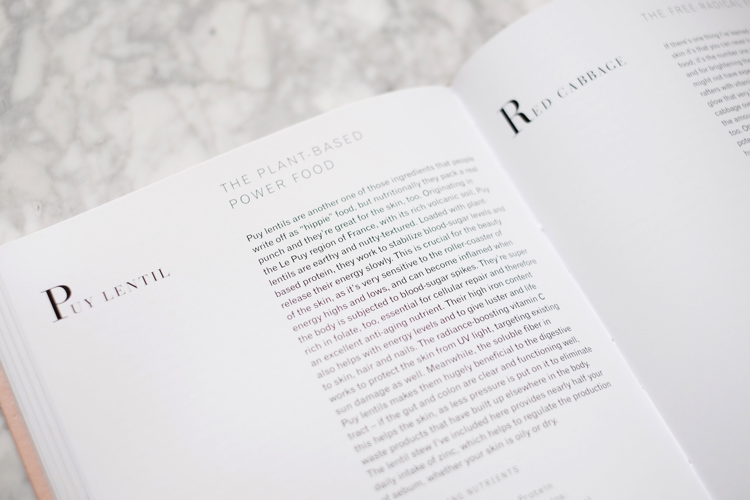 EAT BEAUTIFUL by Wendy Rowe  A cookbook that has recipes designed to make your skin glow.