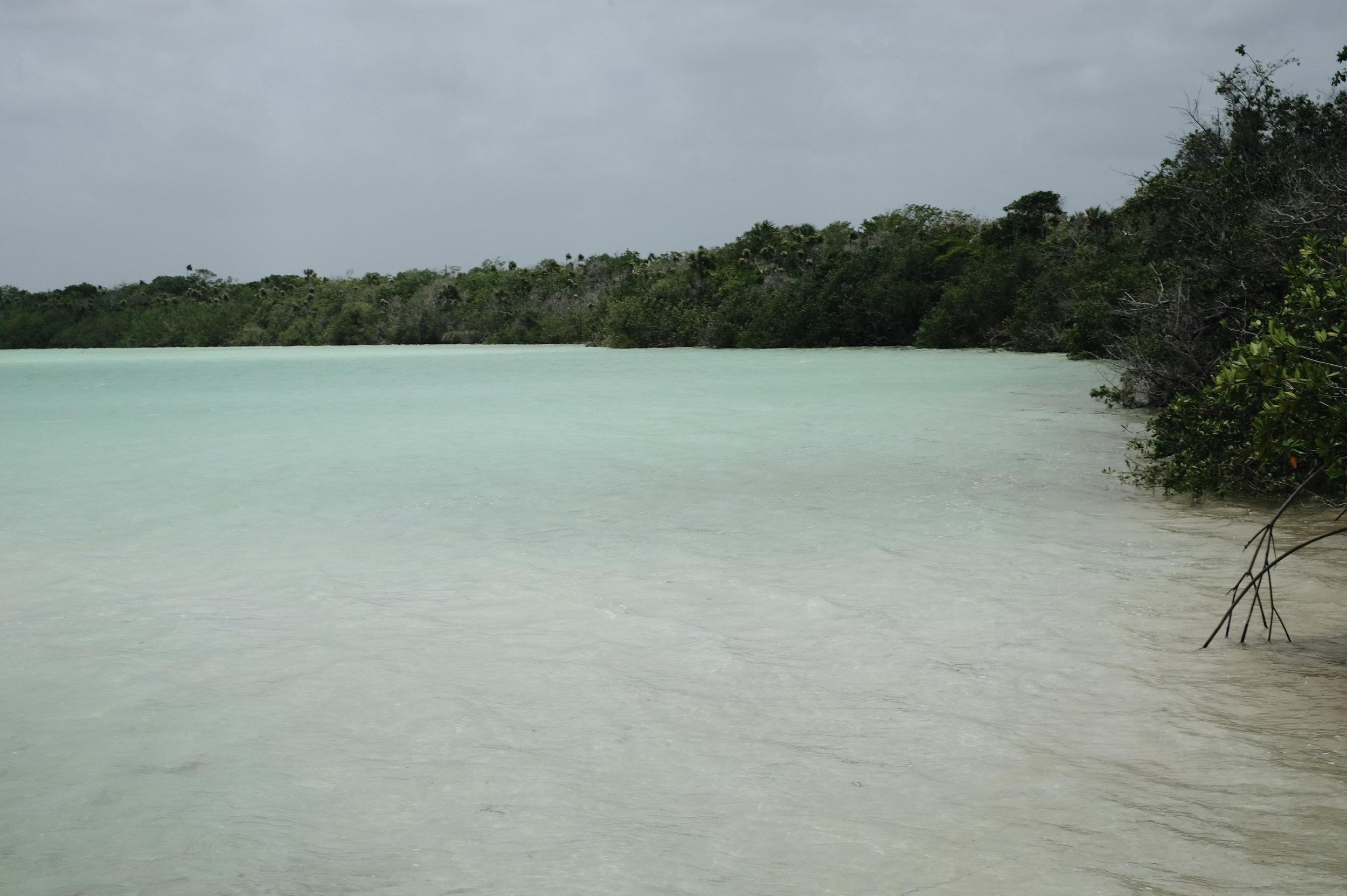 Kanlum Lagoon,  Tulum, Mexico