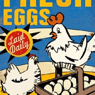 It took years and years of advertising to make people think eggs are no problem for chickens to lay.