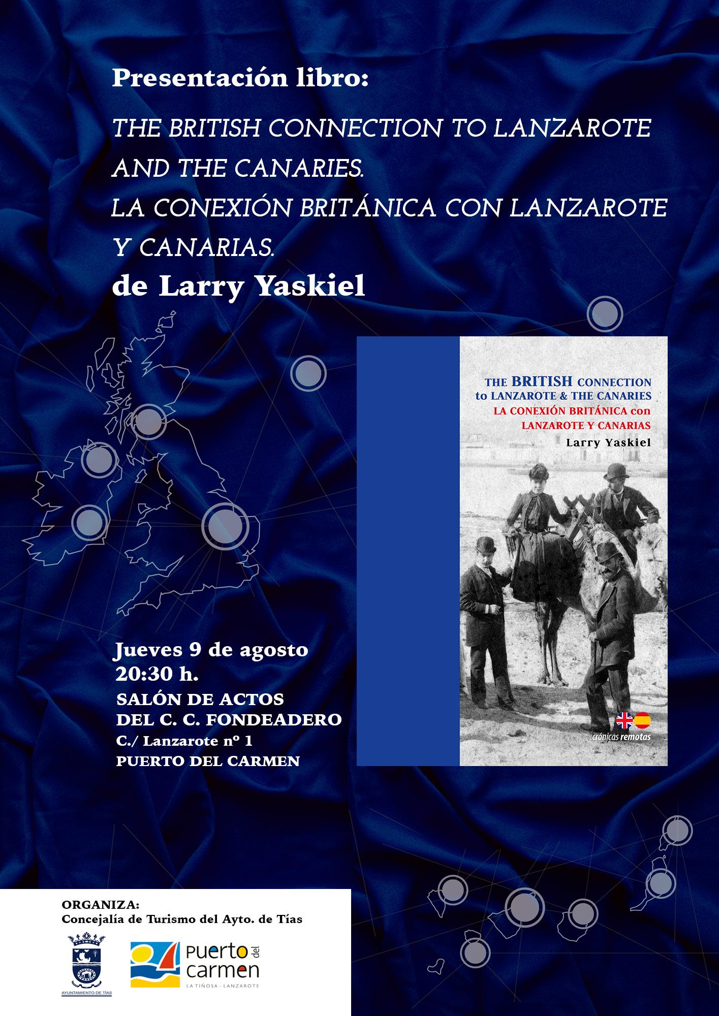 Cartel anunciador del libro de Larry Yaskiel.jpg