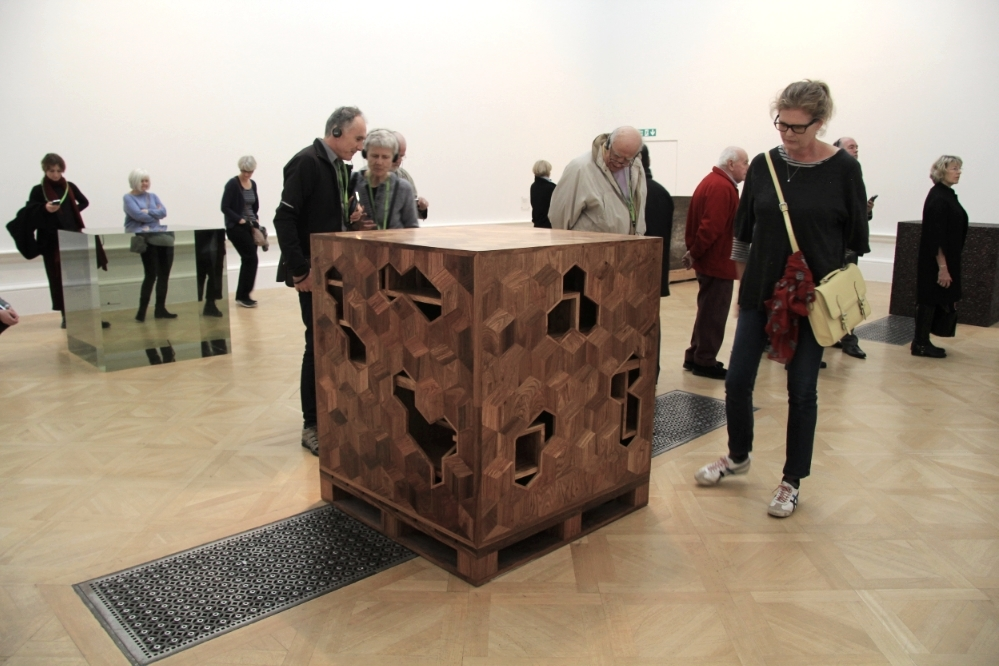Treasure Box, 2014 - Huali wood, 100 x 100 x 100cm