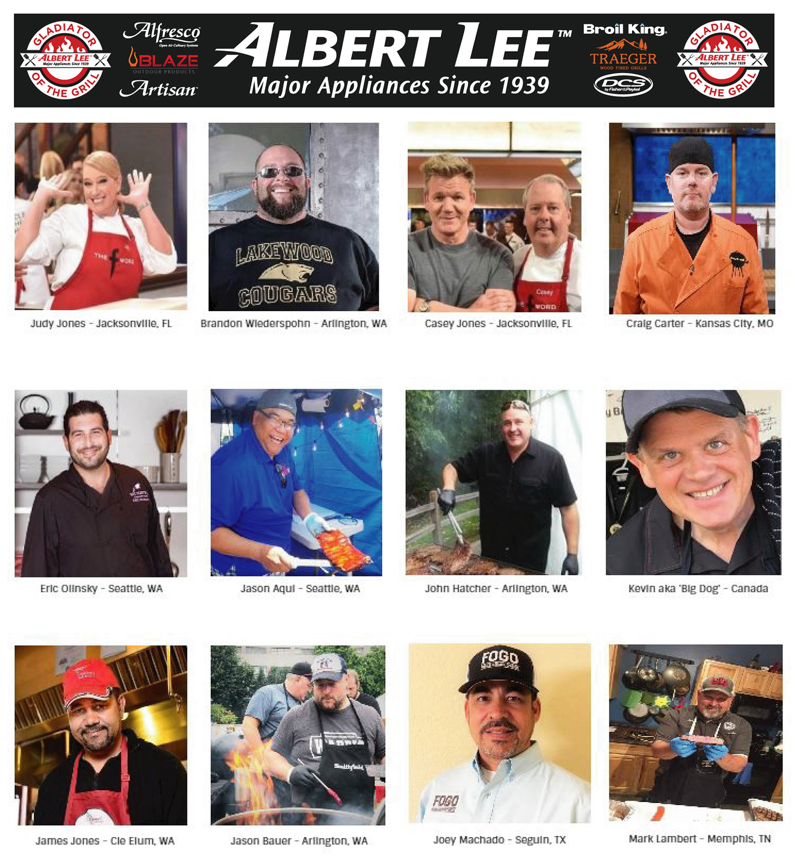 NEW!  Gladiator of the Grill  World Qualifier BBQ Competition
