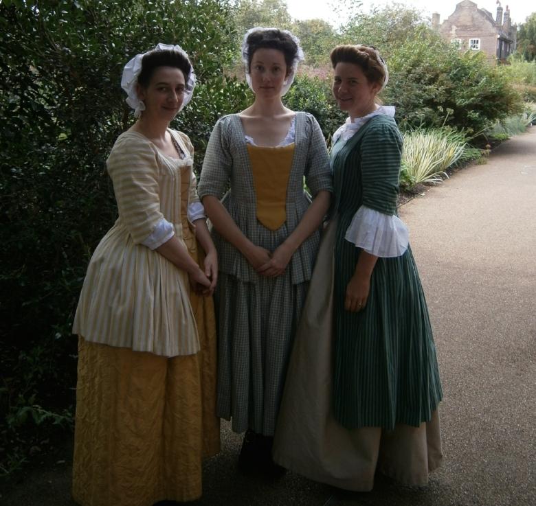 Anneke, Emily & Kate at Kew Gardens