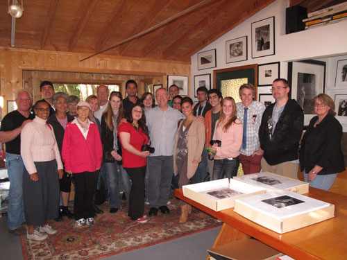 Weston Scholarship - Monterey Peninsula College Photography Class visit