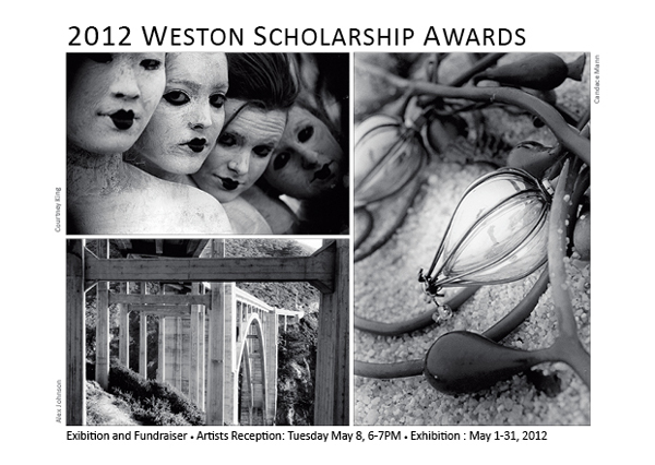 2012 Weston Scholarship Awards and Exhibition Postcard