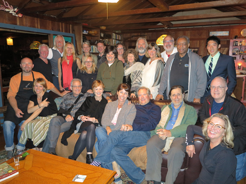 Weston Scholarship Fundraiser Dinner Group Photo