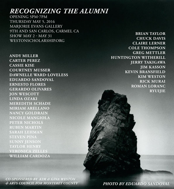 Weston Scholarship Recognizing The AlumniPhoto by Eduardo Sandoval