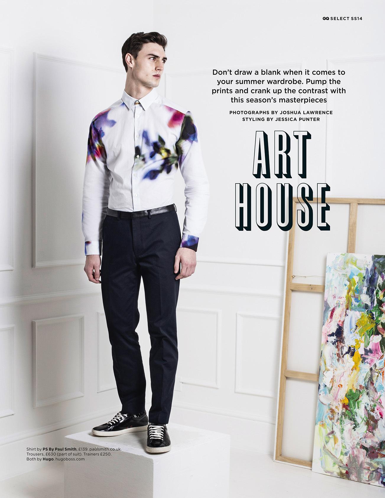 British GQ / Art House
