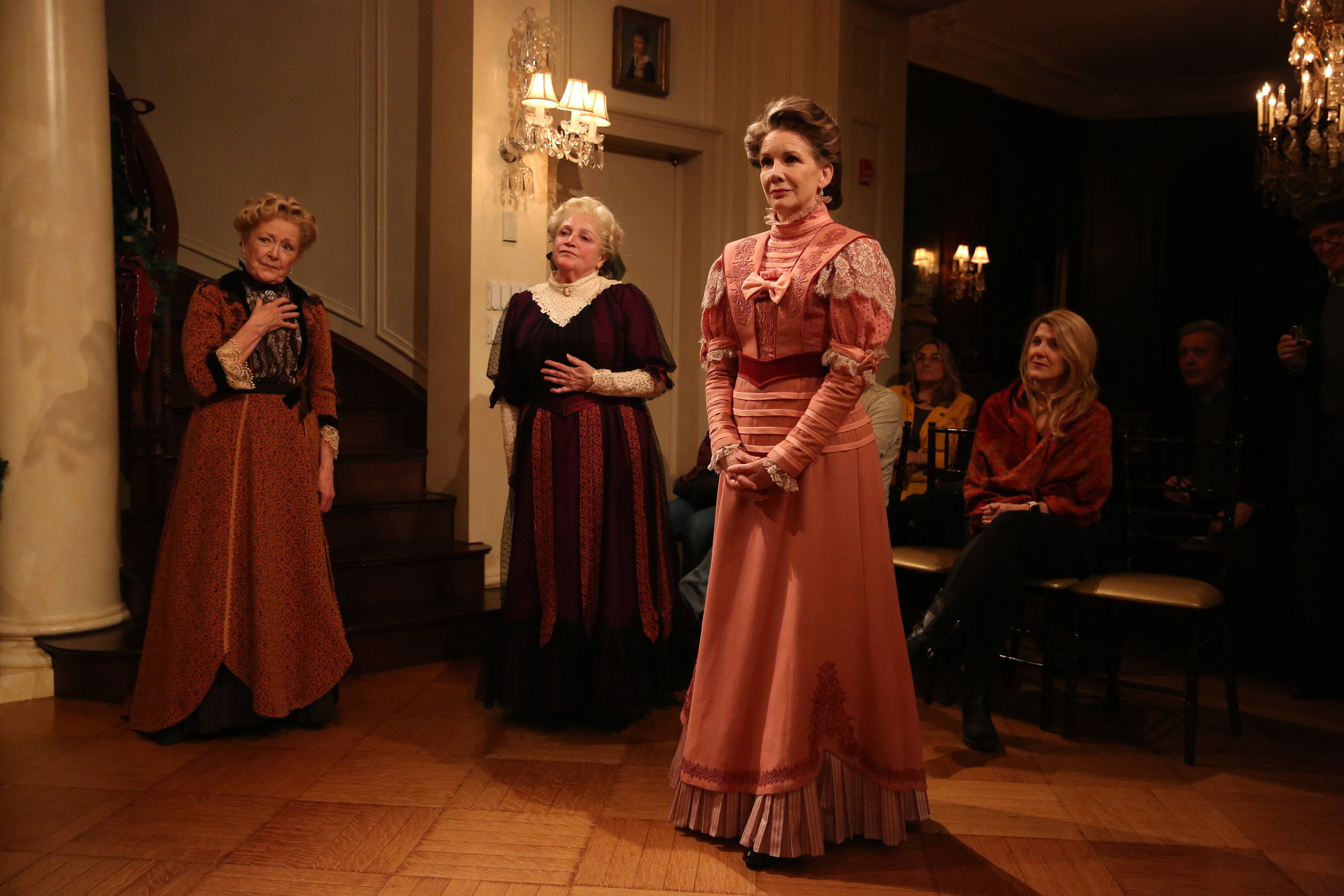 Patricia Kilgarriff, Patti Perkins, and Melissa Gilbert in Irish Rep's THE DEAD, 1904.Photo by Carol Rosegg.JPG