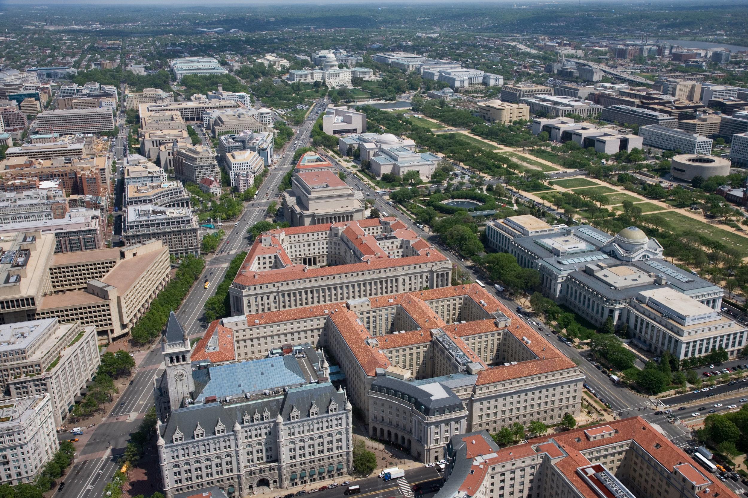 EPA Headquarters, Federal Triangle, Washington DC