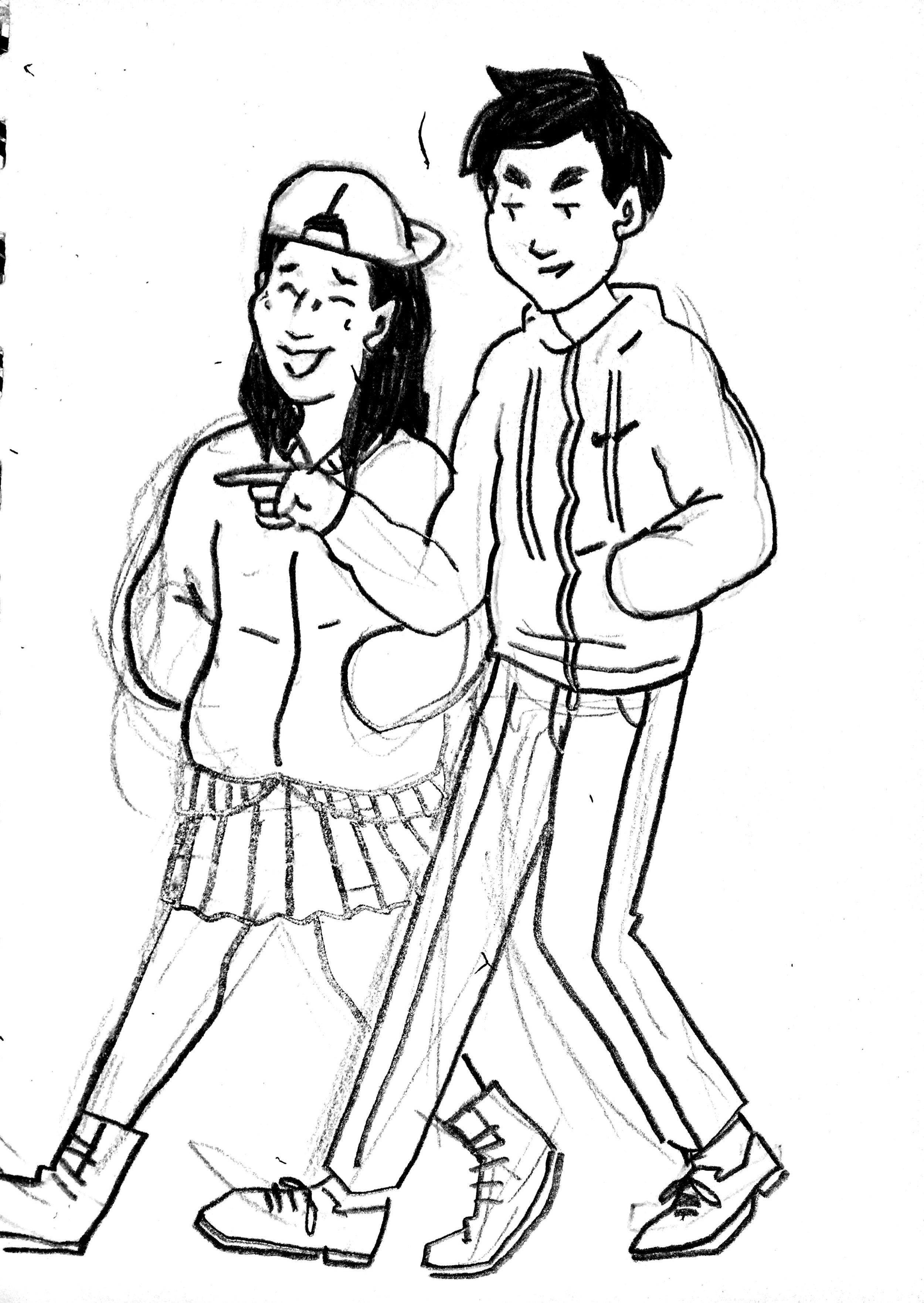 Audrey and Derrick