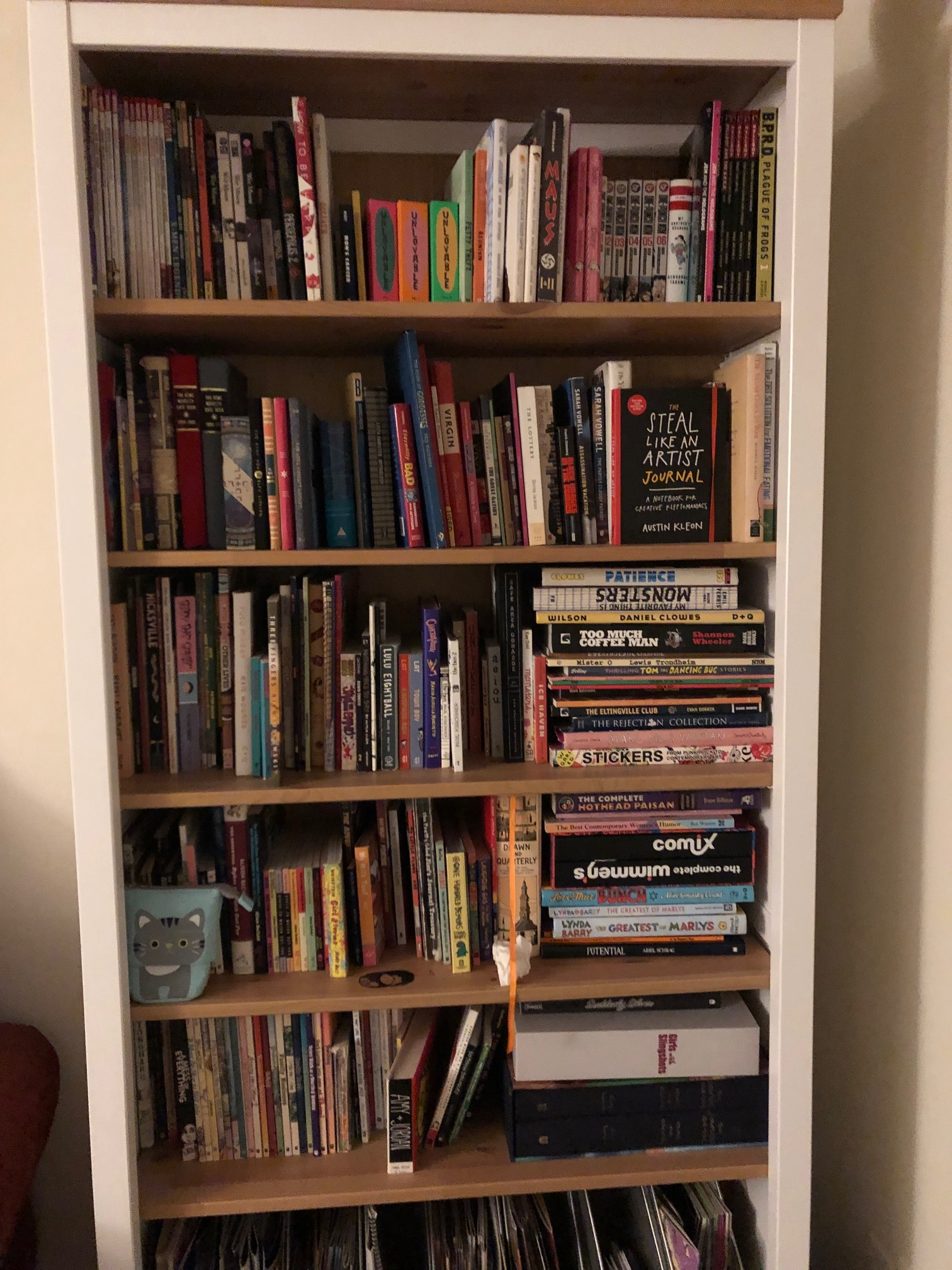 This isn't even CLOSE to my entire book collection!