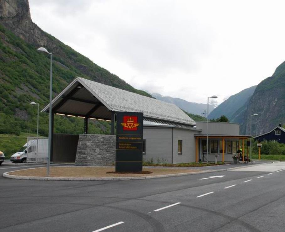 Håbakken kontrollstasjon