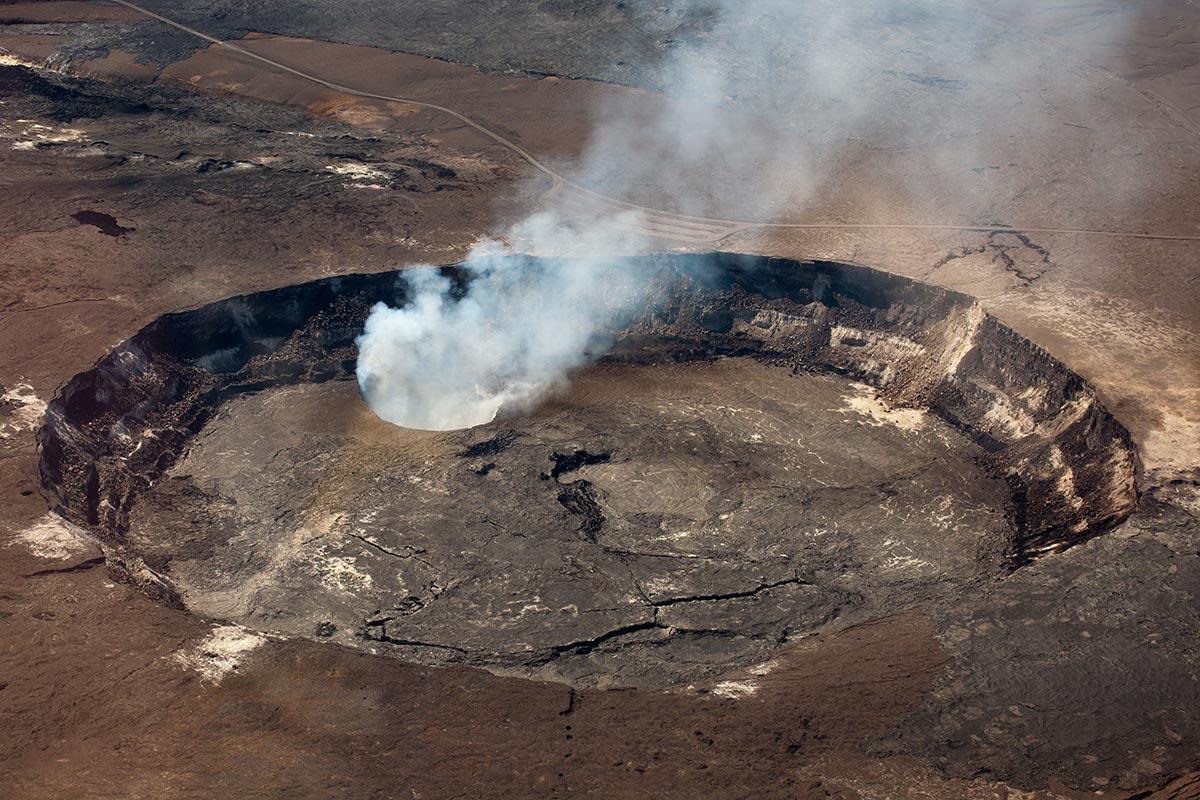 Kilauea Volcano, Kona