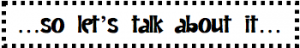 tell me lets talk