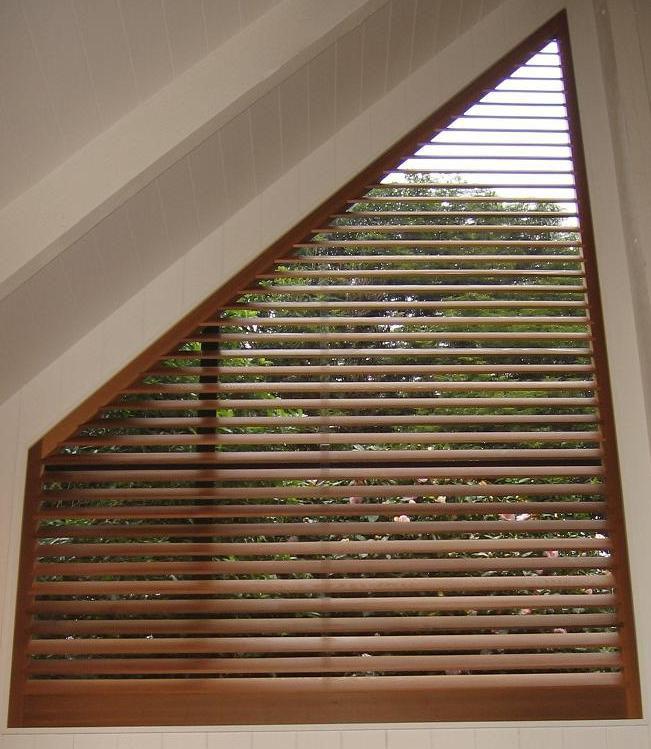 Cedar window shutter