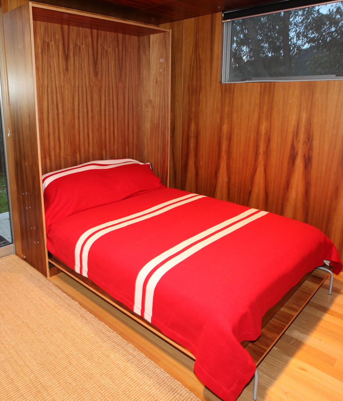 Foldaway bed - fully open