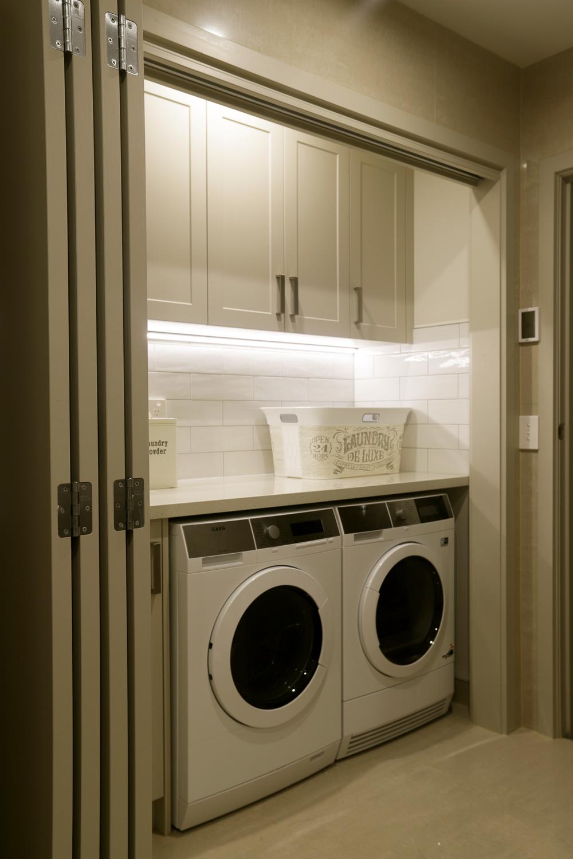Hideaway laundry