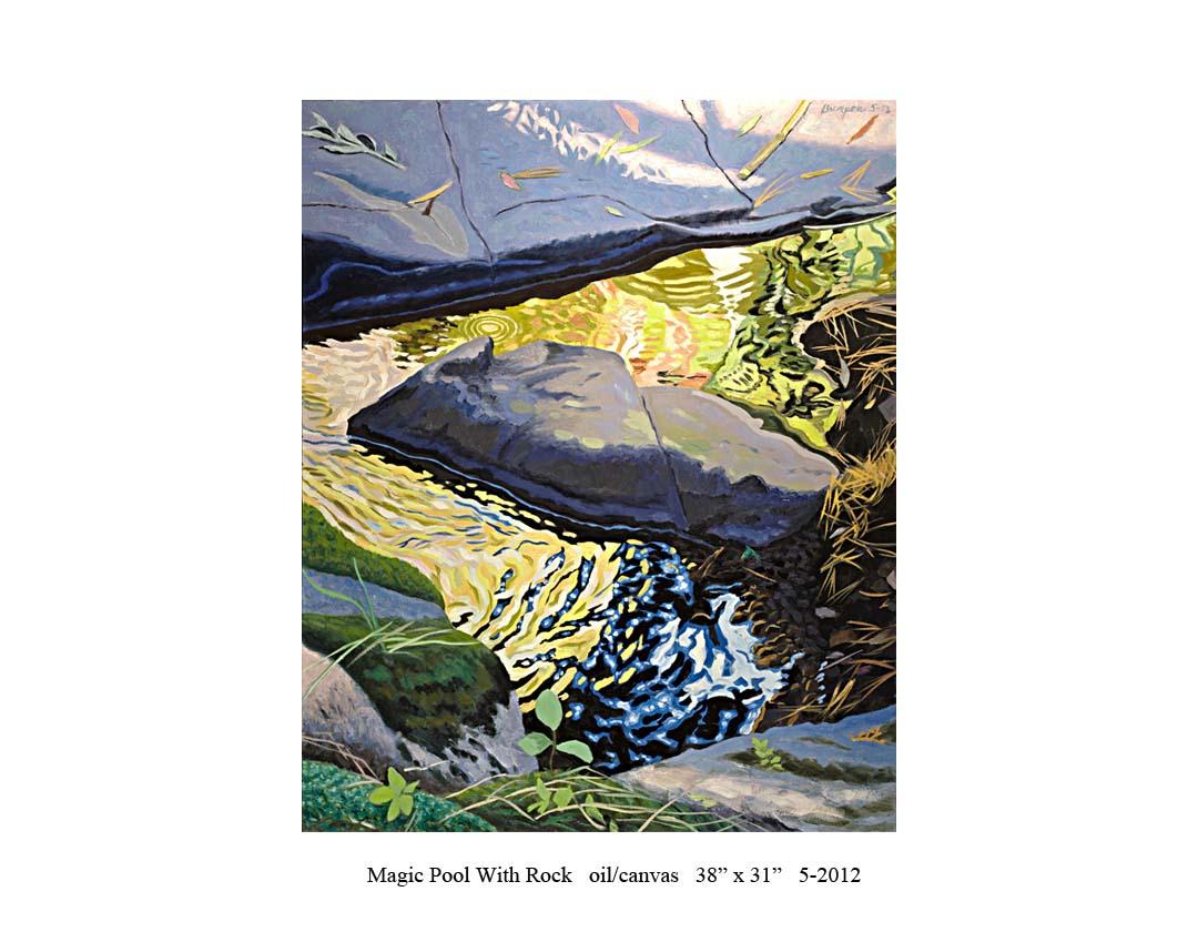6) Magic Pool with Rock; 38 x 31; 5-2012.jpg