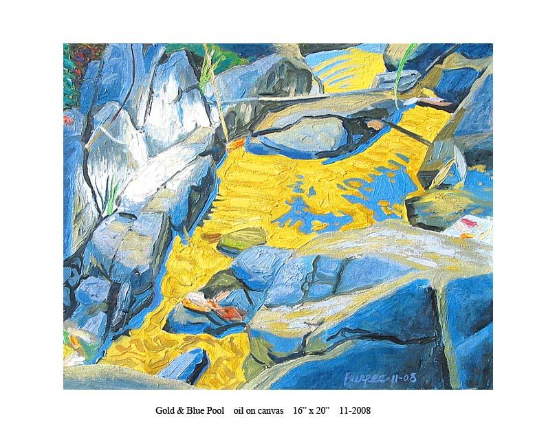 1) Gold & Bue Pool 16 x 20 11-2008.jpg