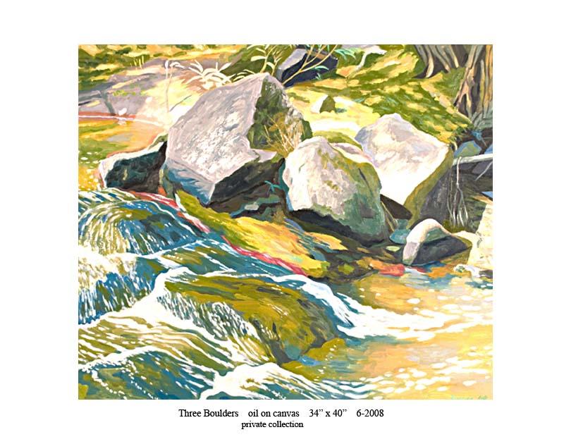 3) Three Boulders 34 x 40 6-2008.jpg