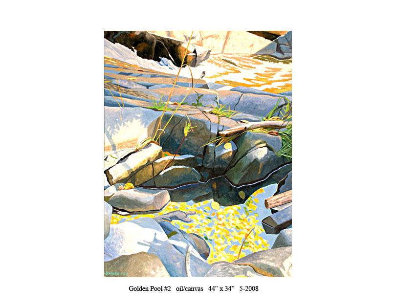4) Golden Pool #2 44 x 34 5-2008.jpg